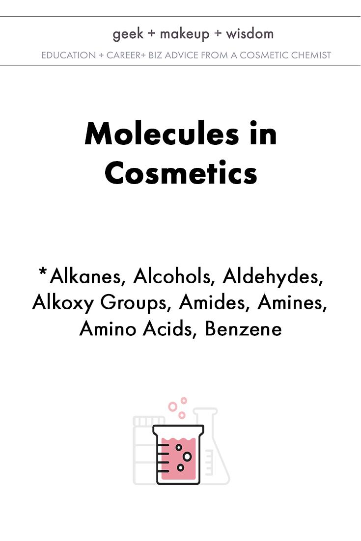 molecules in cosmetics