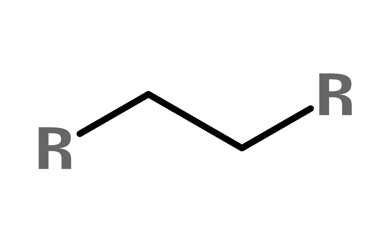 Figure 1. General structure of an alkane