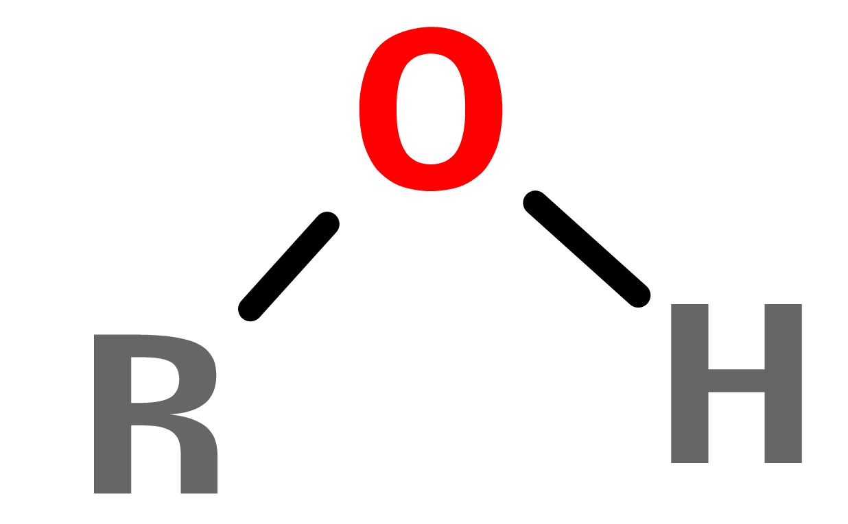 Figure 3. General structure of alcohol