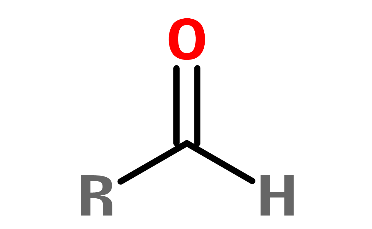 Figure 5. General structure of an aldehyde