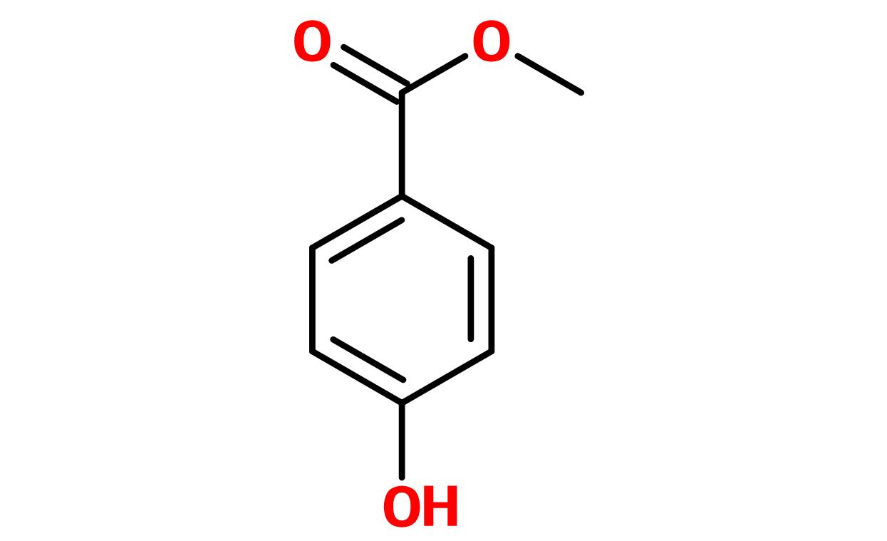 Figure 16. Methylparaben