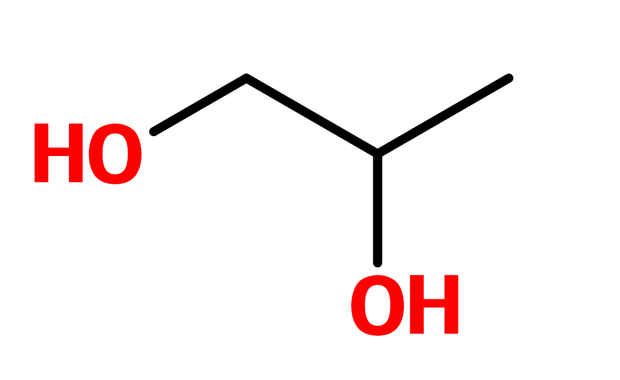 Figure 12. Propylene glycol