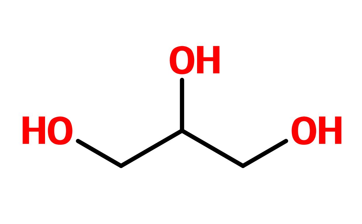 Figure 3. Glycerin