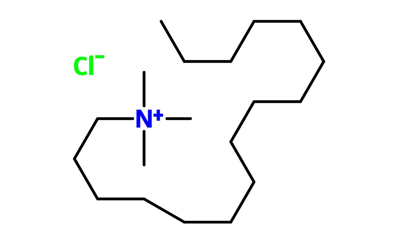 Figure 4. Cetrimonium chloride
