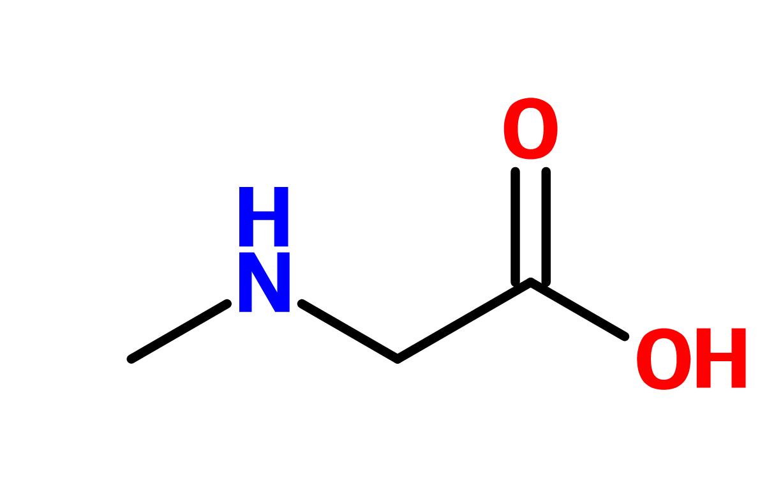Figure 5. Sarcosinate structure