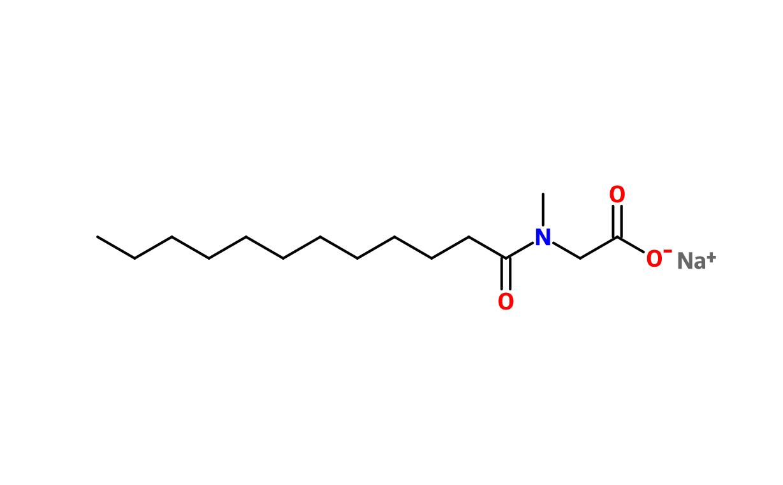 Figure 6. Sodium lauryl sarcosinate