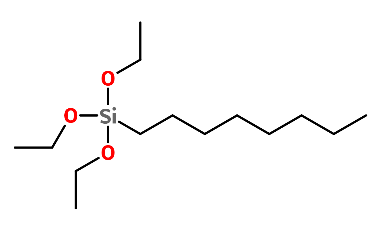 Figure 8. Triethoxycaprylylsilane