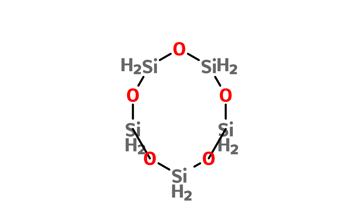 Figure 9. Cyclopentasiloxane