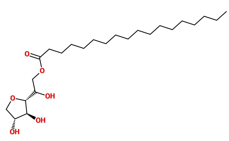 Figure 13. Sorbitan monostearate (Span 60)
