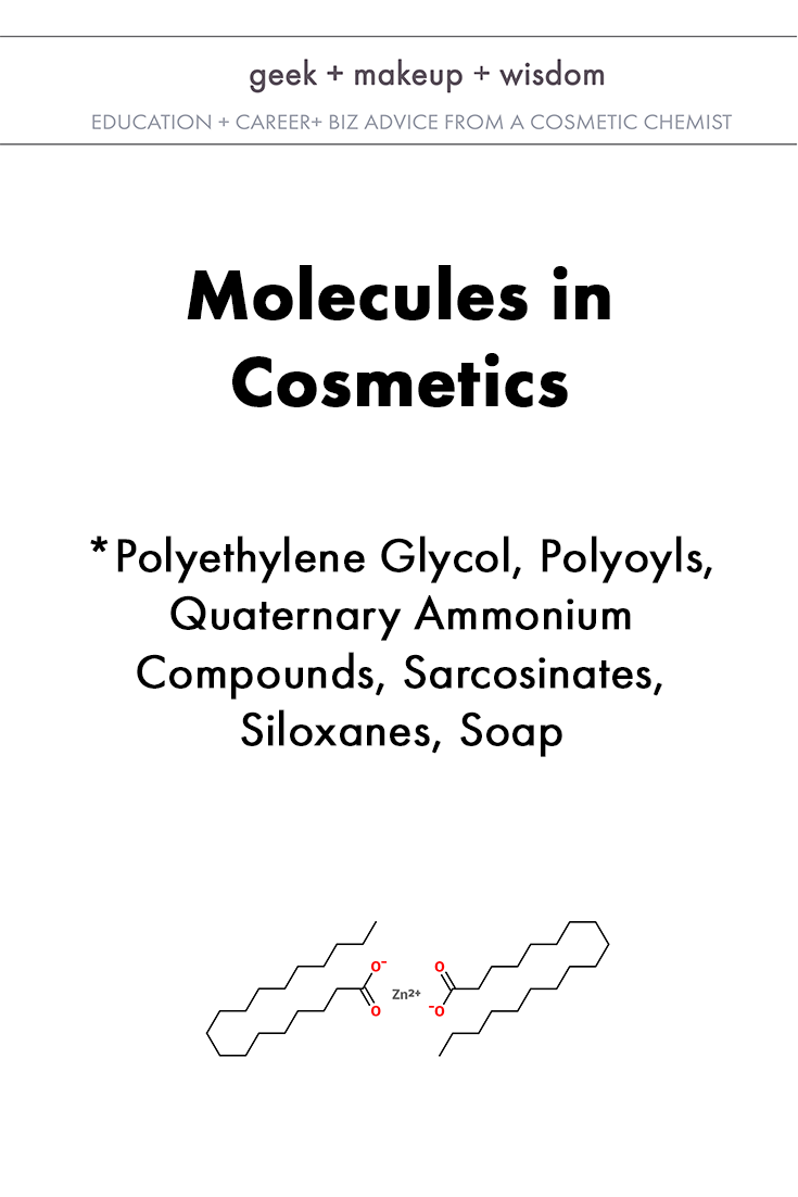 molecules in cosmetics day 4