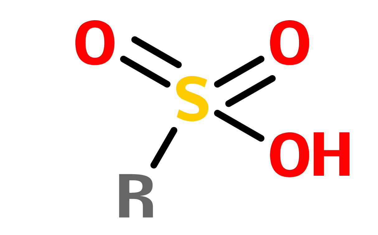 Figure 3. Sulfonic acid
