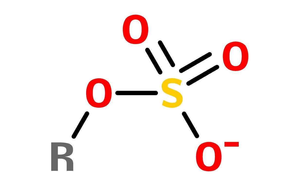 Figure 7. Sulfuric acid esters (organosulfates)