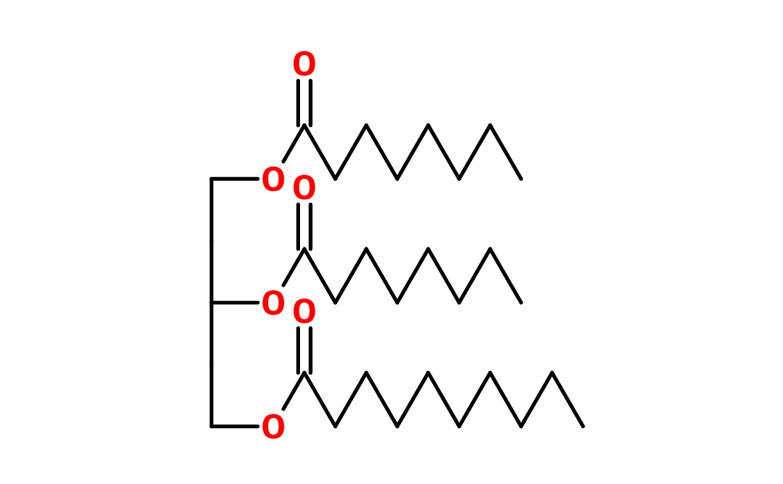 Figure 10. Caprylic/capric triglyceride