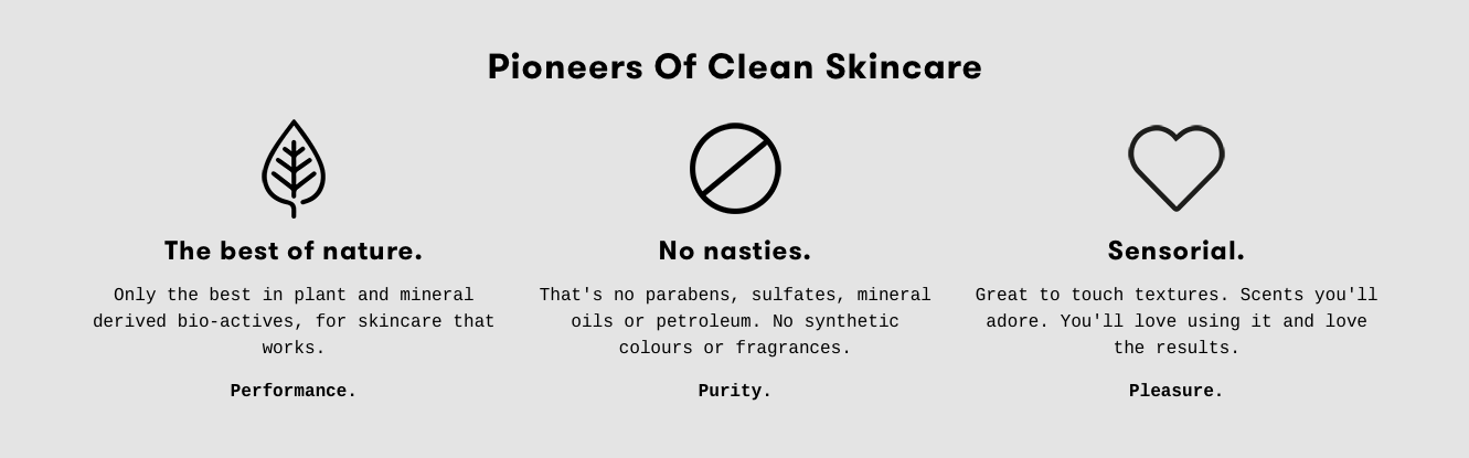 Can't argue with that really... It's like: if Honey and Harvey was in the business of making skincare.