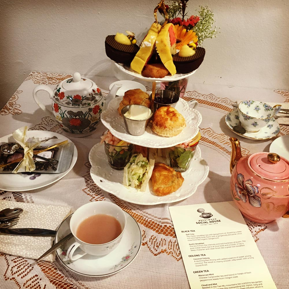 Mother's Day Afternoon Tea at Brentwood Social House