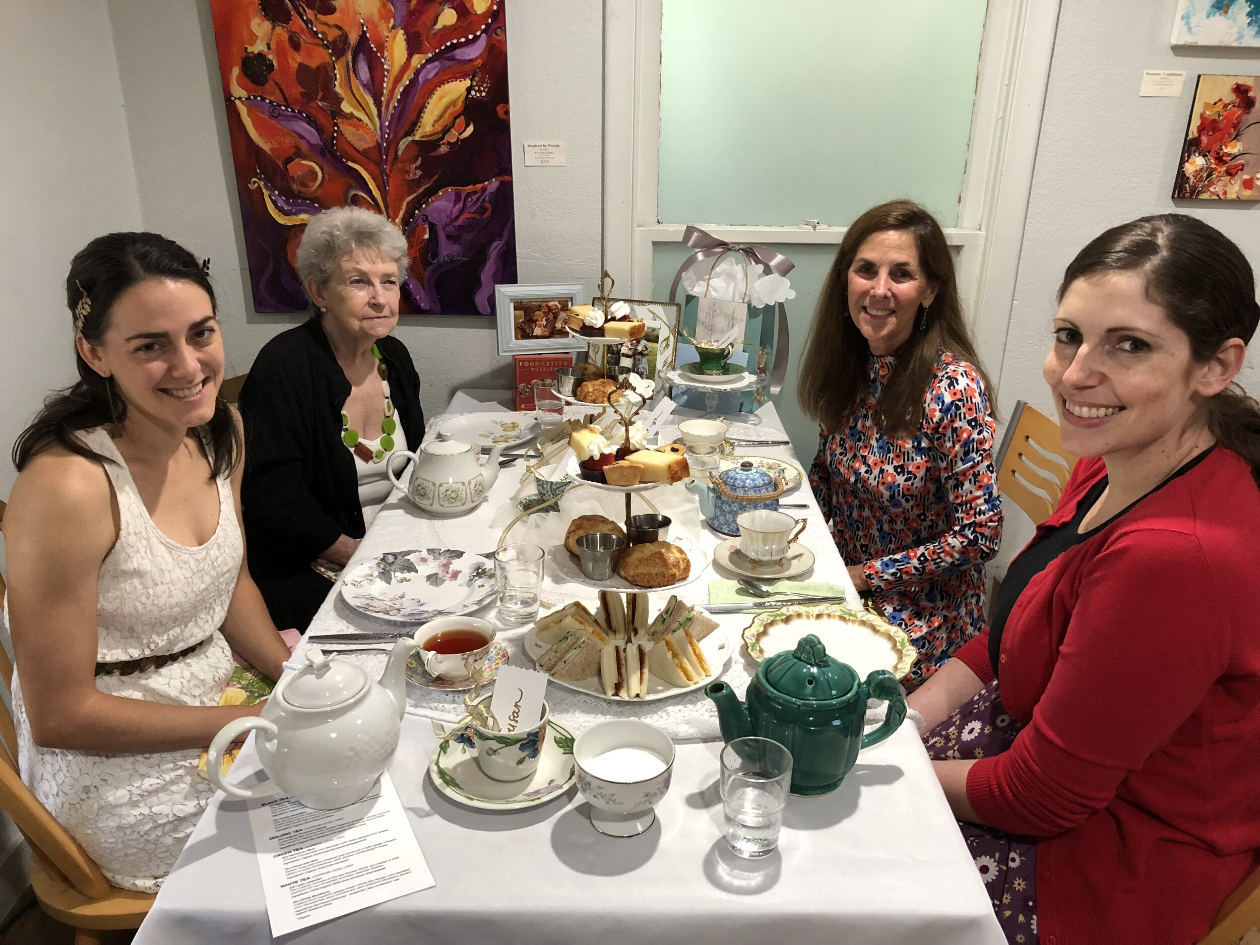 Afternoon Tea at Brentwood Social House