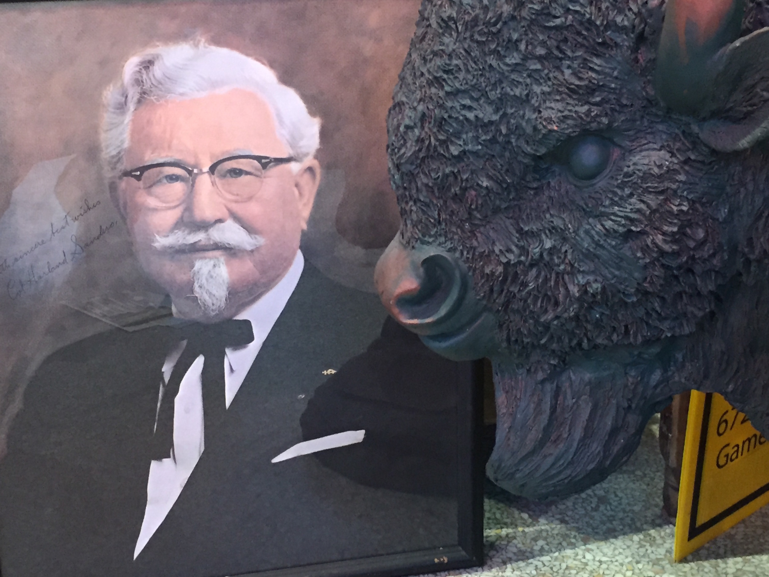 KFC's Colonel Sanders Portrait at Southern Food and Beverage Museum | New Orleans, LA