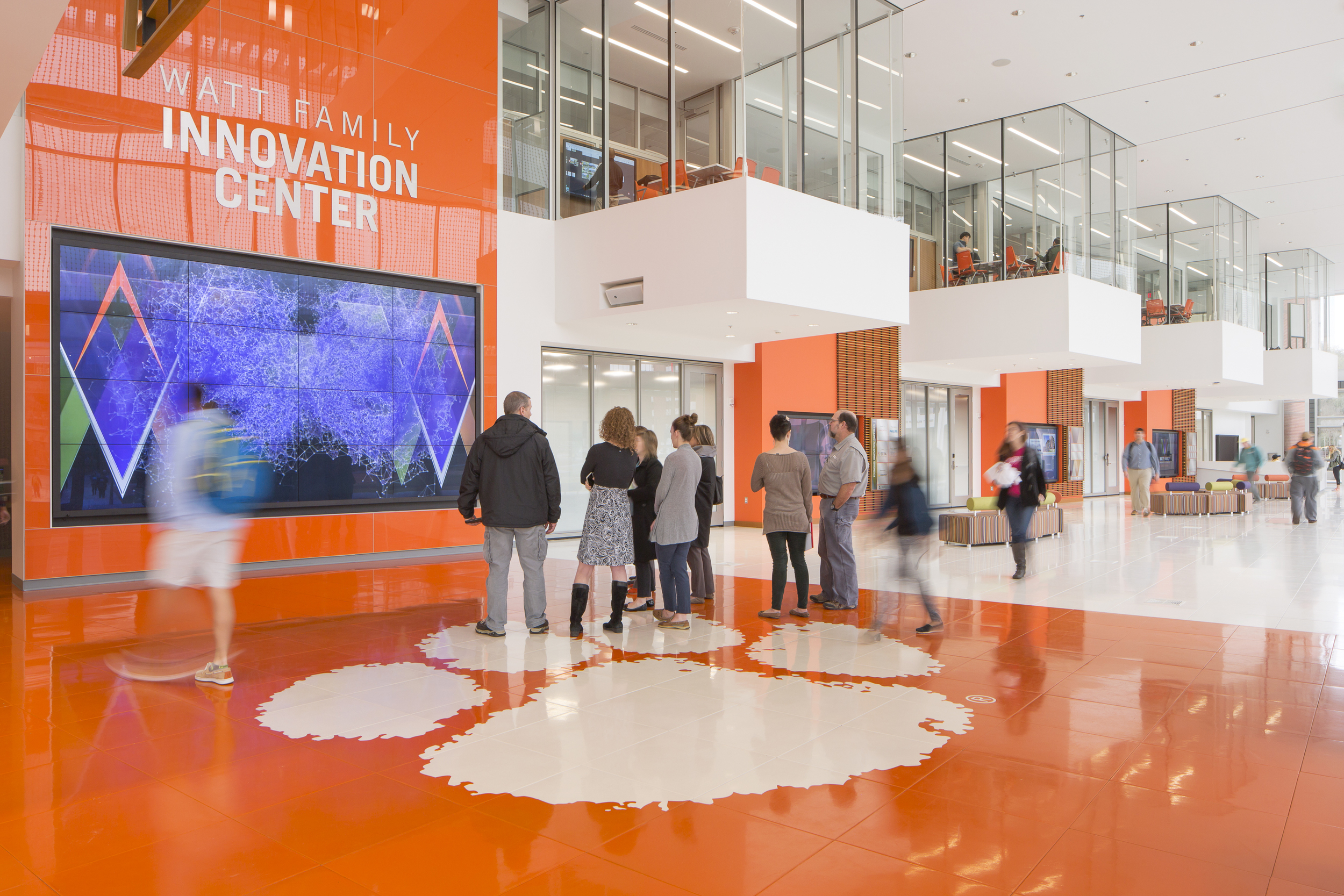 Clemson University, Watt Family Innovation Center | Photo by Michelle Litvin