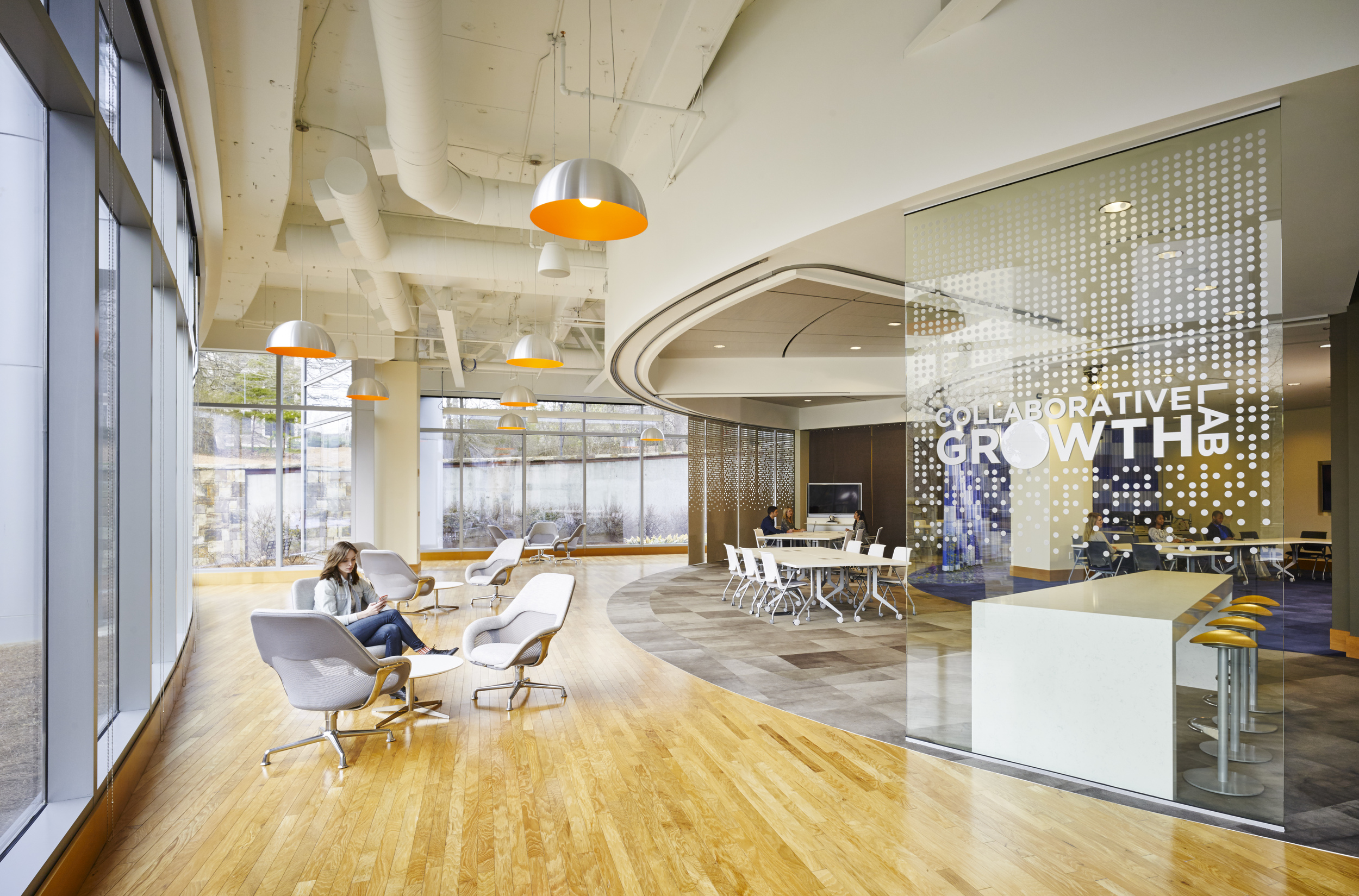 Newell Rubbermaid, Collaborative Growth Lab | Atlanta, GA | Photo by Hedrick Blessing