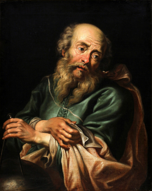 HERETIC | Galileo Galilei | Painting by Peter Paul Rubens