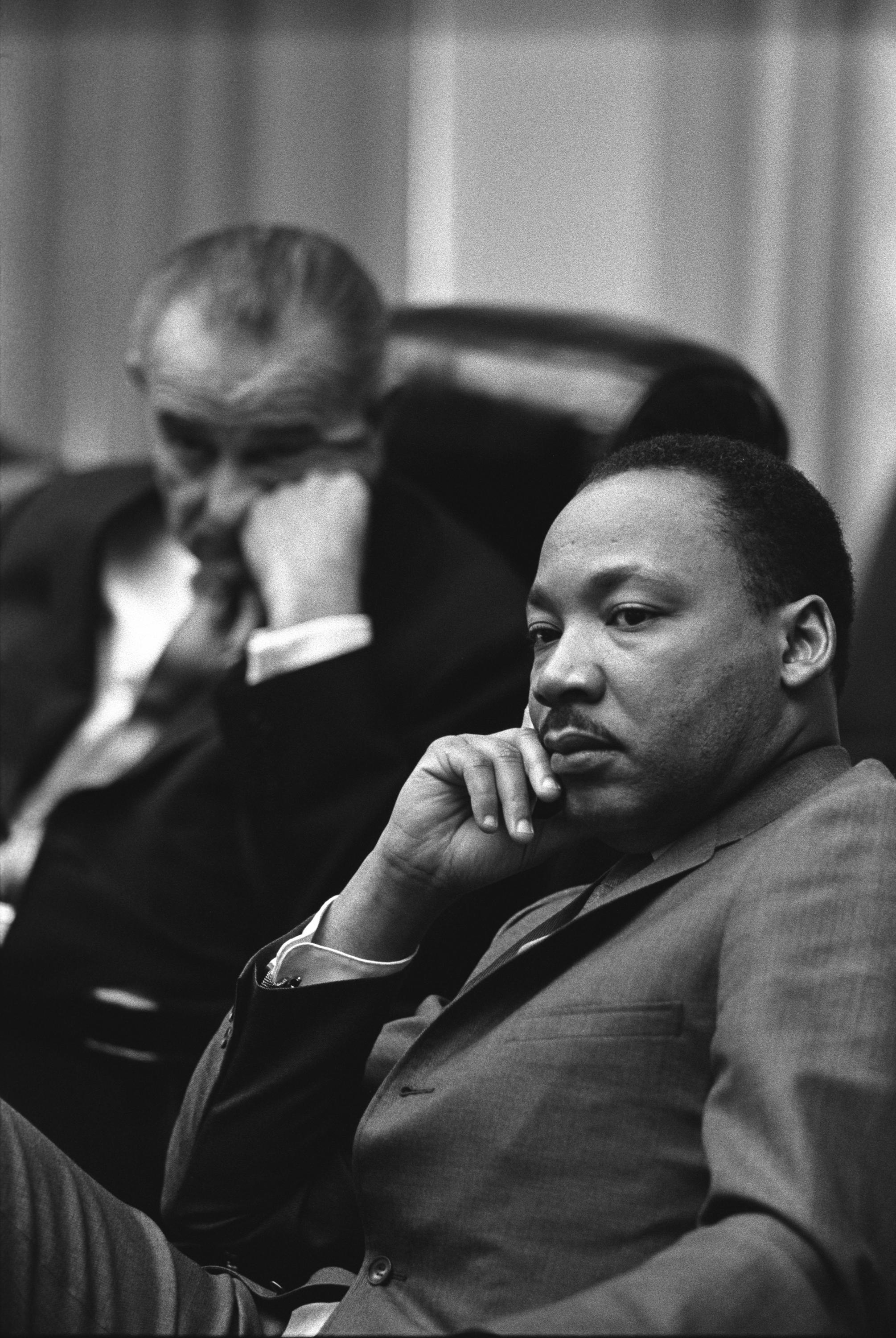 ENEMY OF THE STATE | Reverend Dr. Martin Luther King Jr. | Public Domain Photo Courtesy of Lyndon Baines Johnson Library and Museum