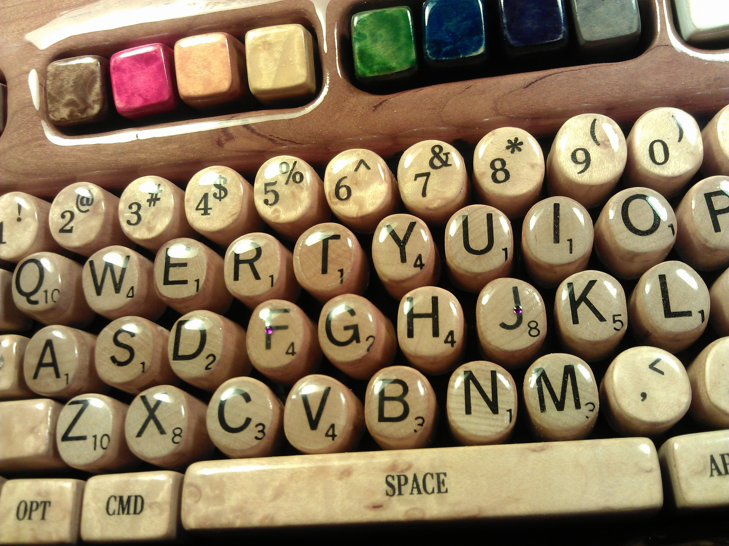 Professor Potter's Scrabble Key Board| Courtesy of Professor Steven Potter, PhD