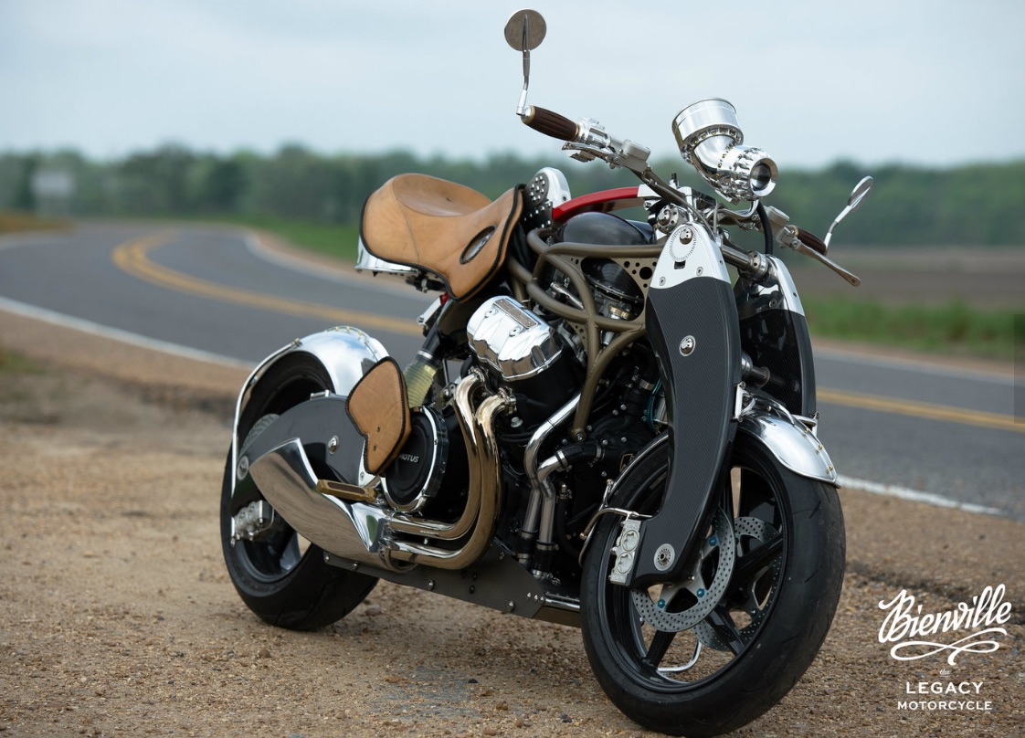 Bienville Legacy Motorcycle | Image Courtesy of ADMCi