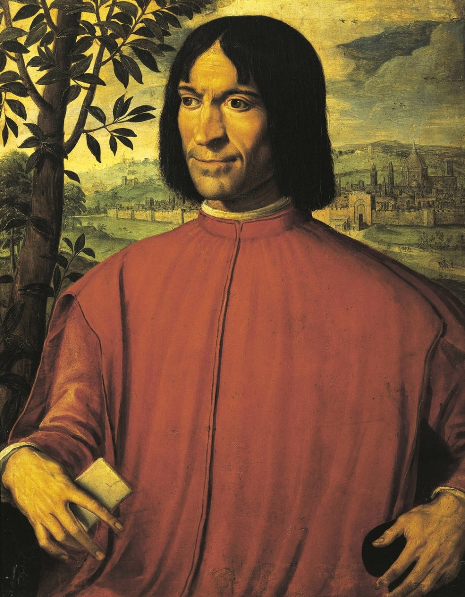 Lorenzo de Medici | Portrait by Girolamo Macchietti, 16th century | Source: Wikimedia Commons