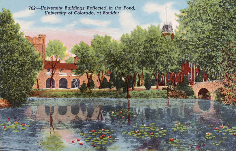 Postcard - University of Colorado, Boulder