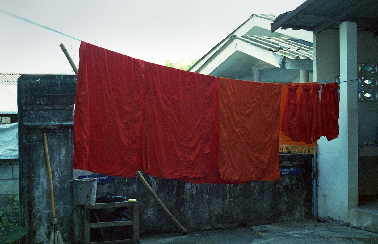 Normal Nuances: Monks' Laundry   Film Photography, 17x11 in., 2018