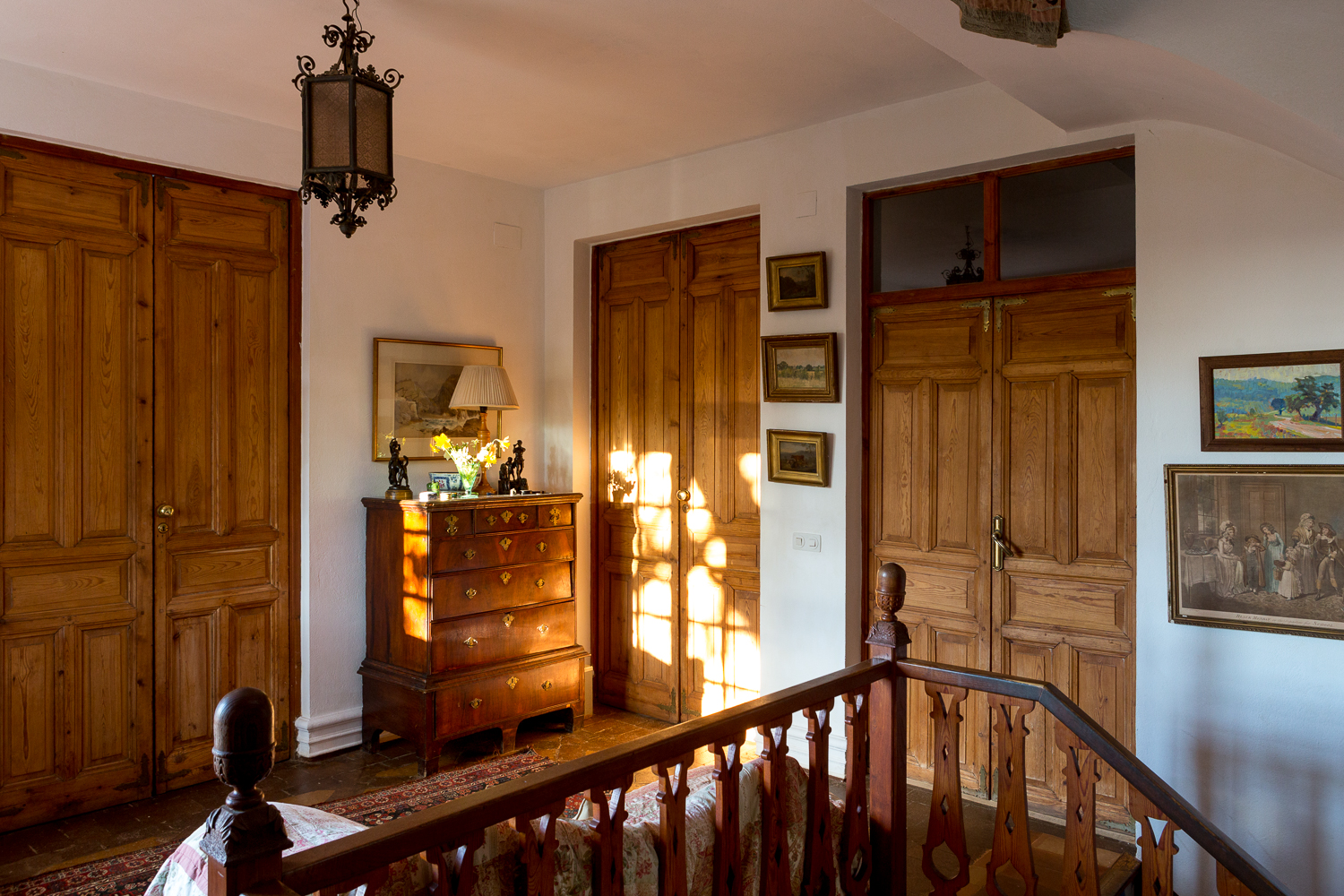 The upstairs hall, B&B near Seville