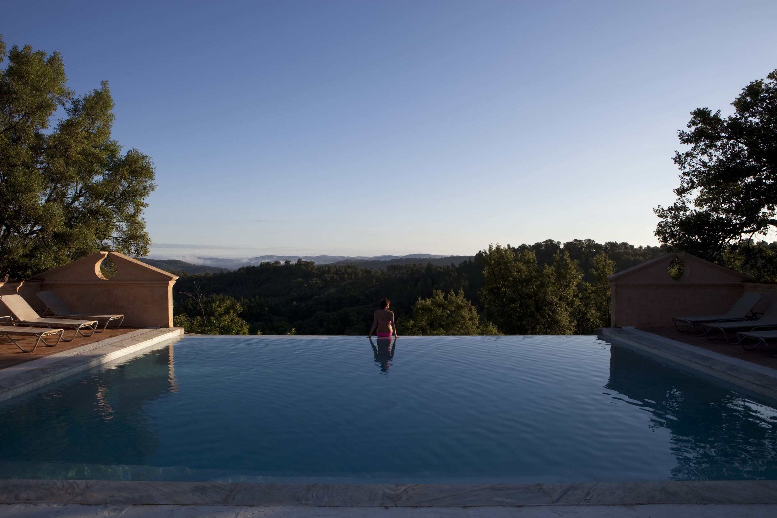 The pool, Buenvino b&b and self-catering cottages near Seville