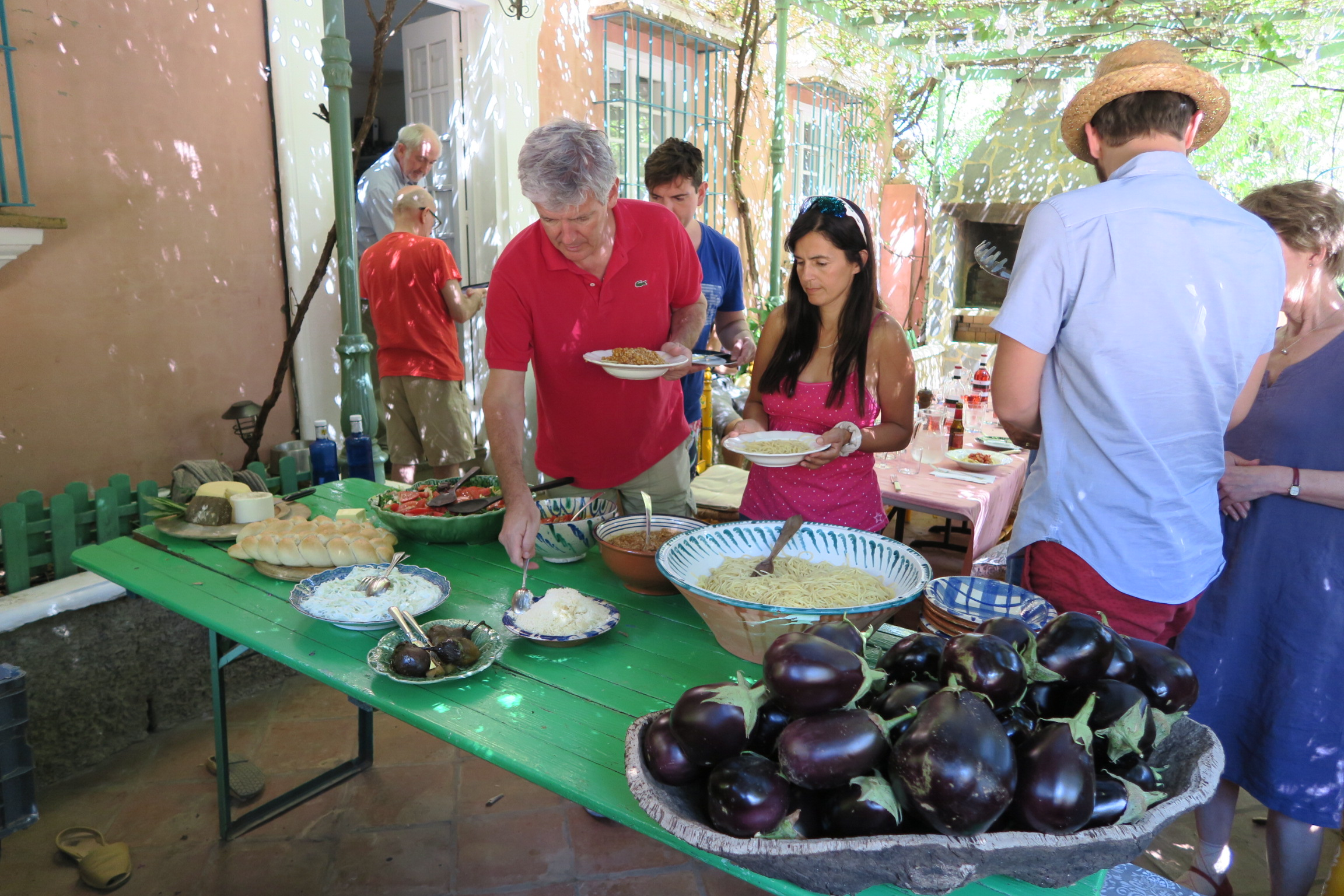 Creative writing holiday near Seville with great food
