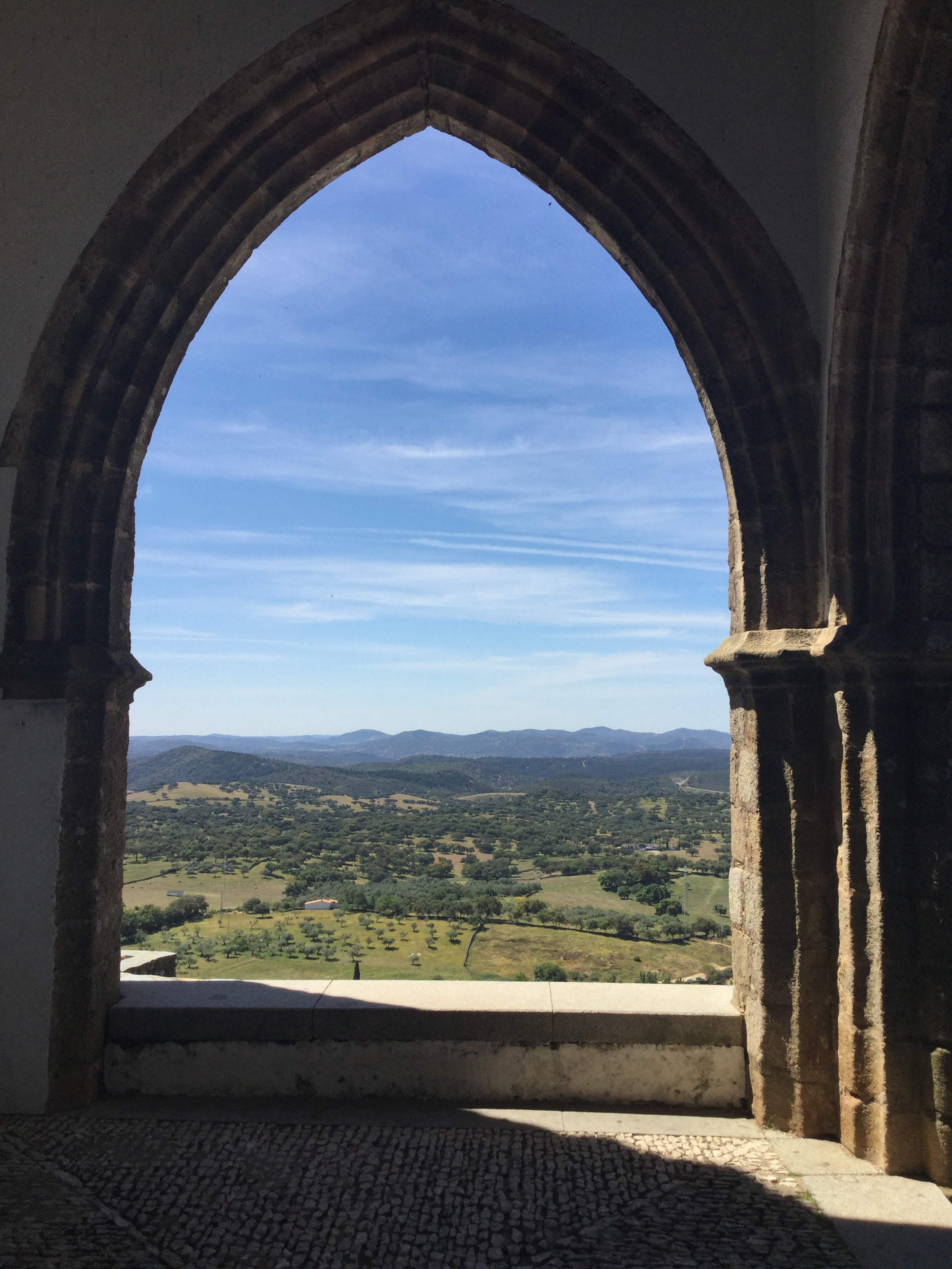 View from the Church of Our Lady of Sorrows, Aracena
