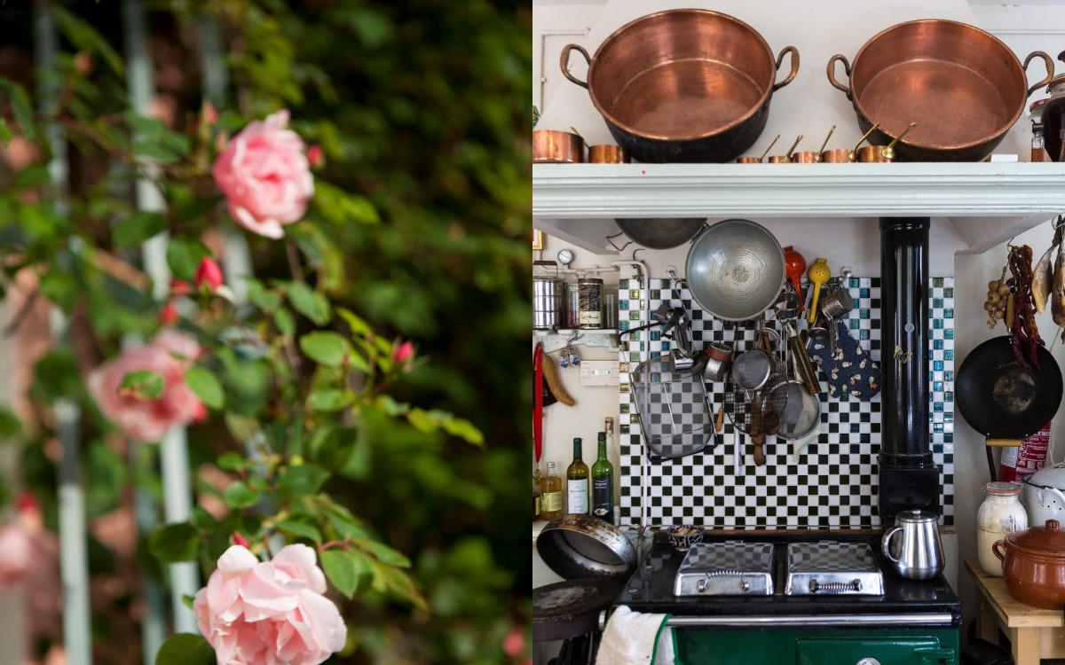The kitchen, Buenvino B&B Aracena