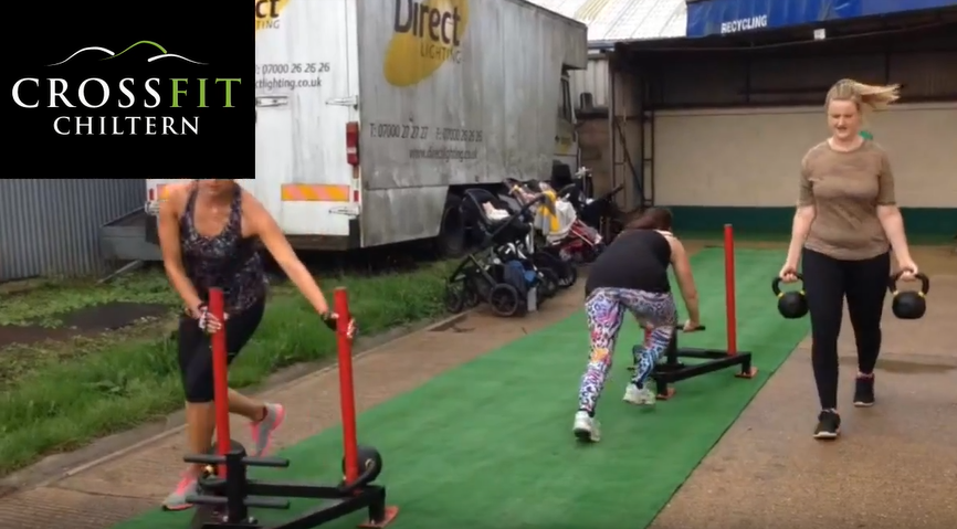 How to do the Farmer's carry at CrossFit Chiltern