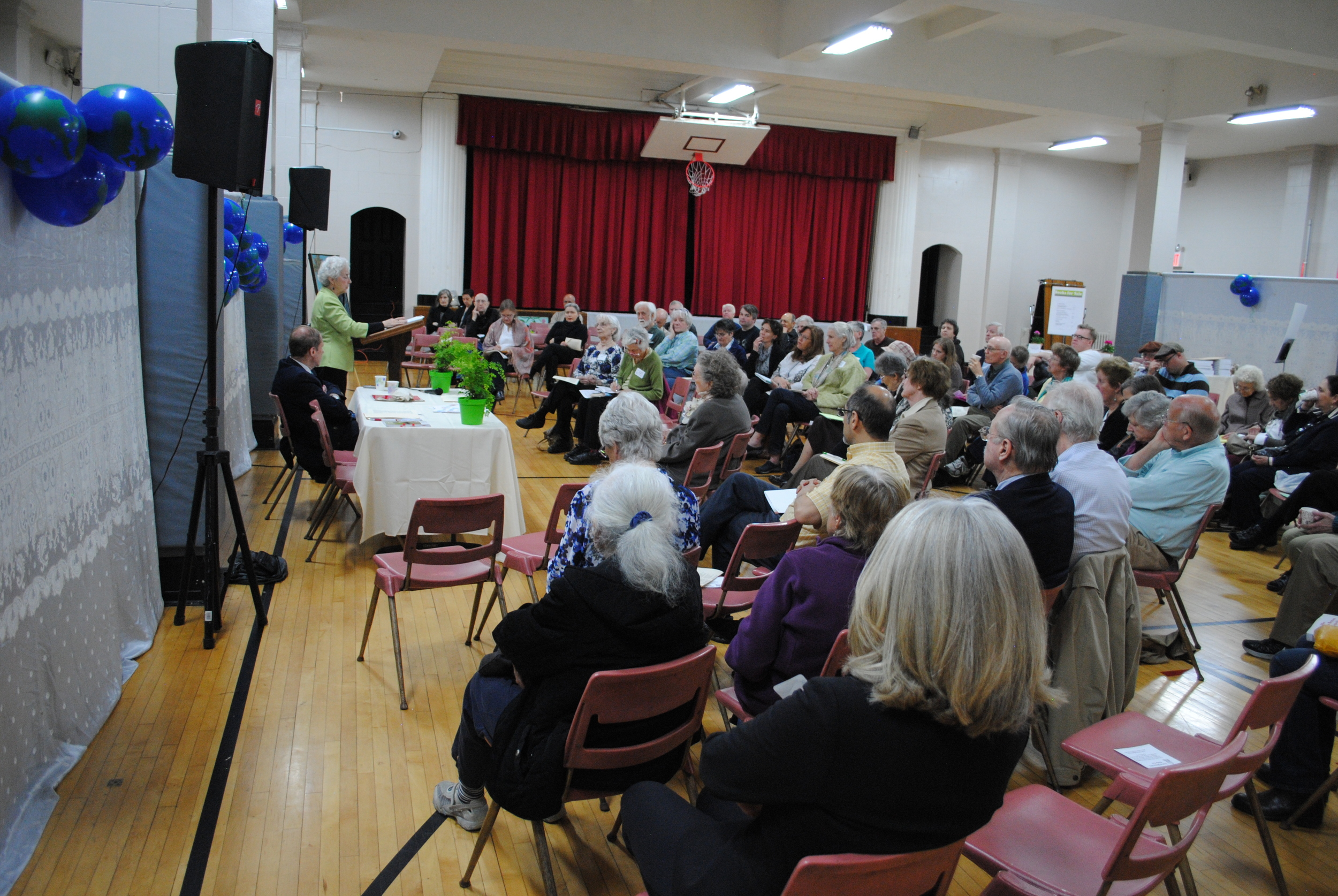 Participants from across NYC gathered for an Earth Day reflection on Merton's ecological vision with speakers Monica Weiss and Patrick O'Connell. April, 2016