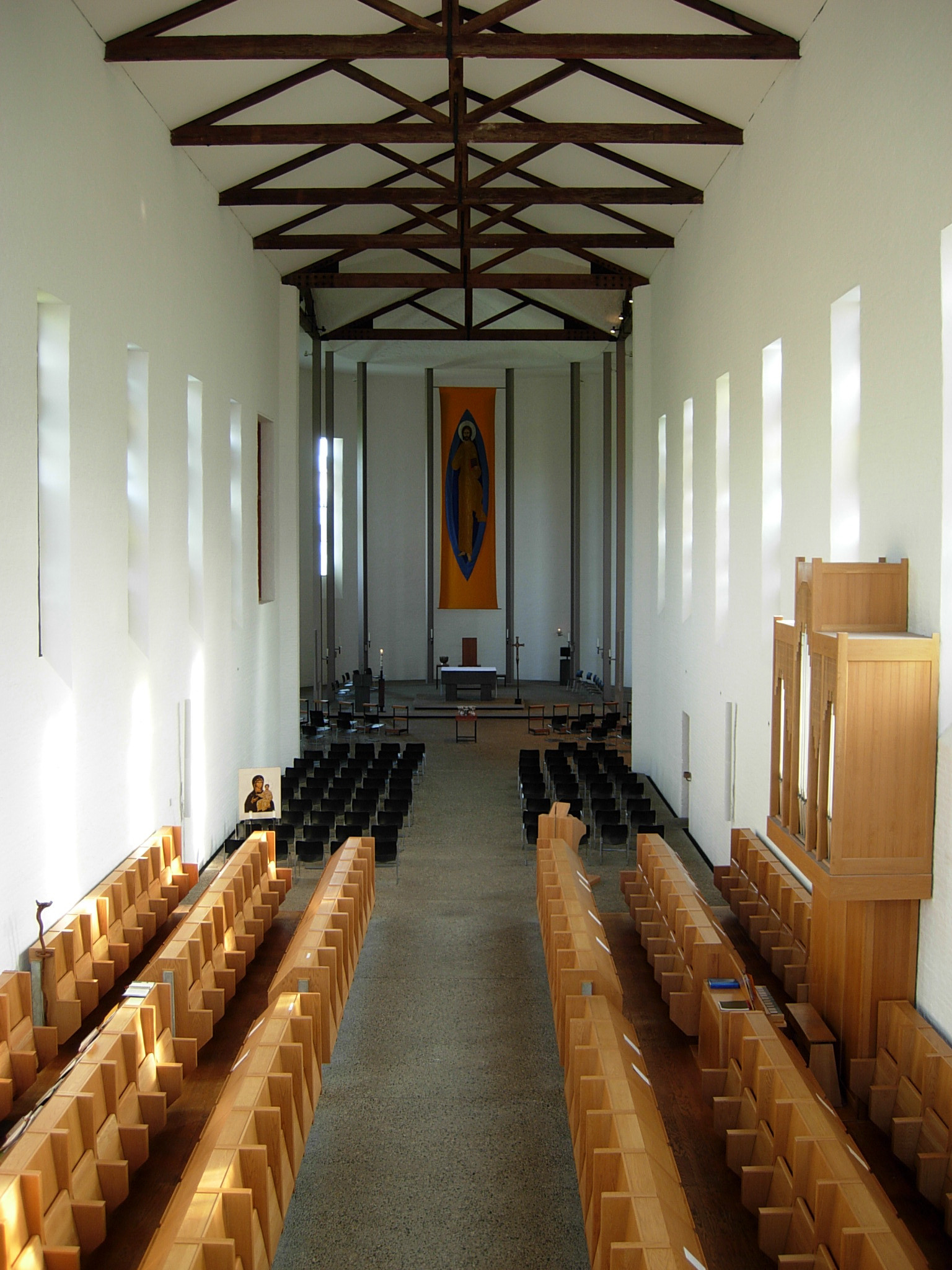 Abbey of Our Lady of Gethsemani Church Nave