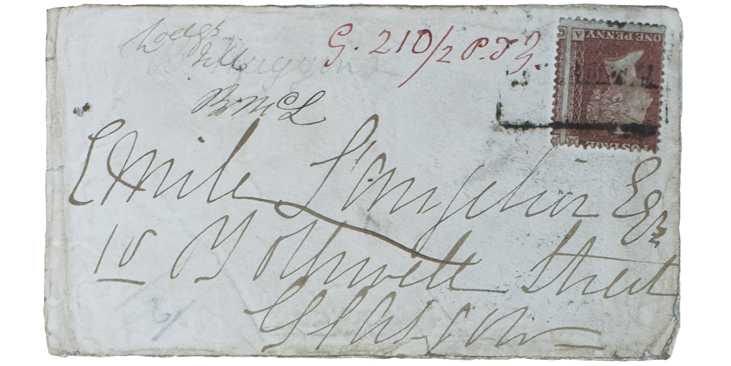 One of Madeleine Smith's letters to her lover from the Signet Library's collection.