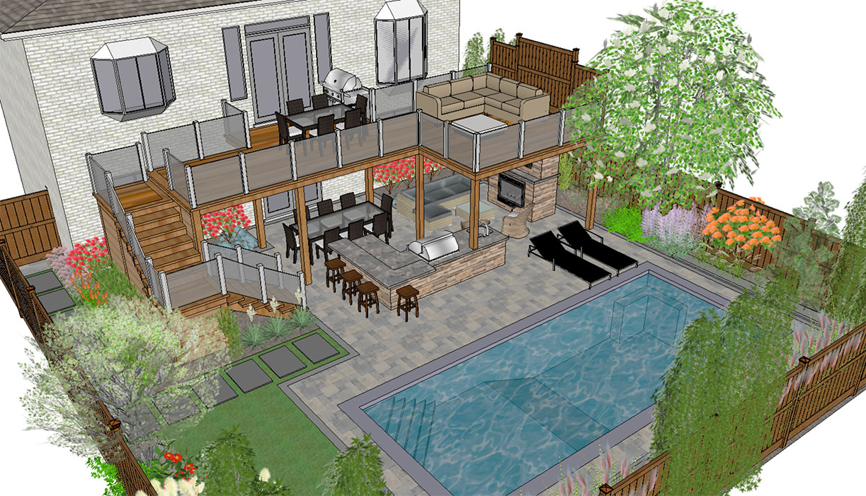 Swimming Pool Design And Landscape Design Ideas Darsan