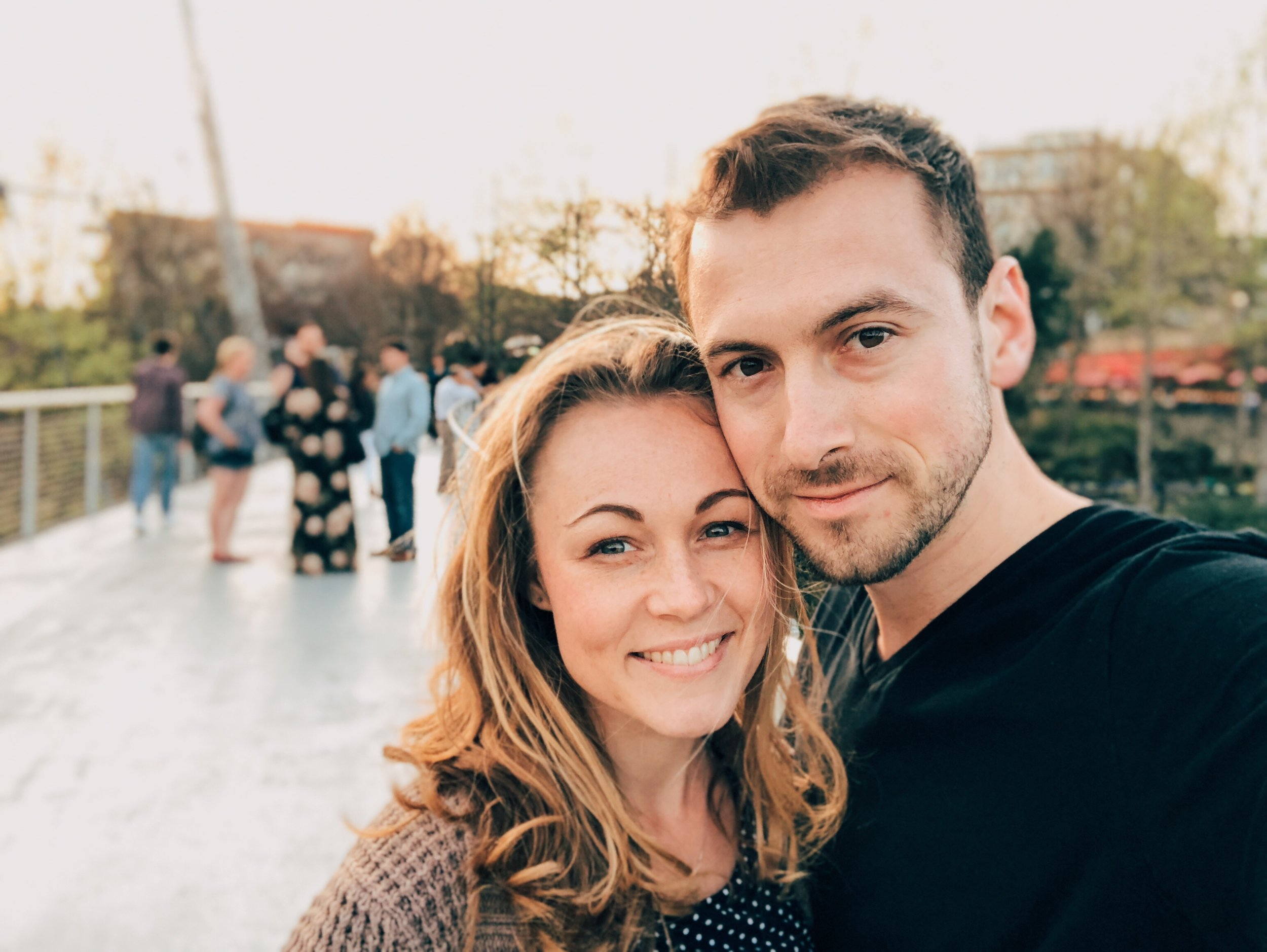 Greenville, SC with my beautiful wife