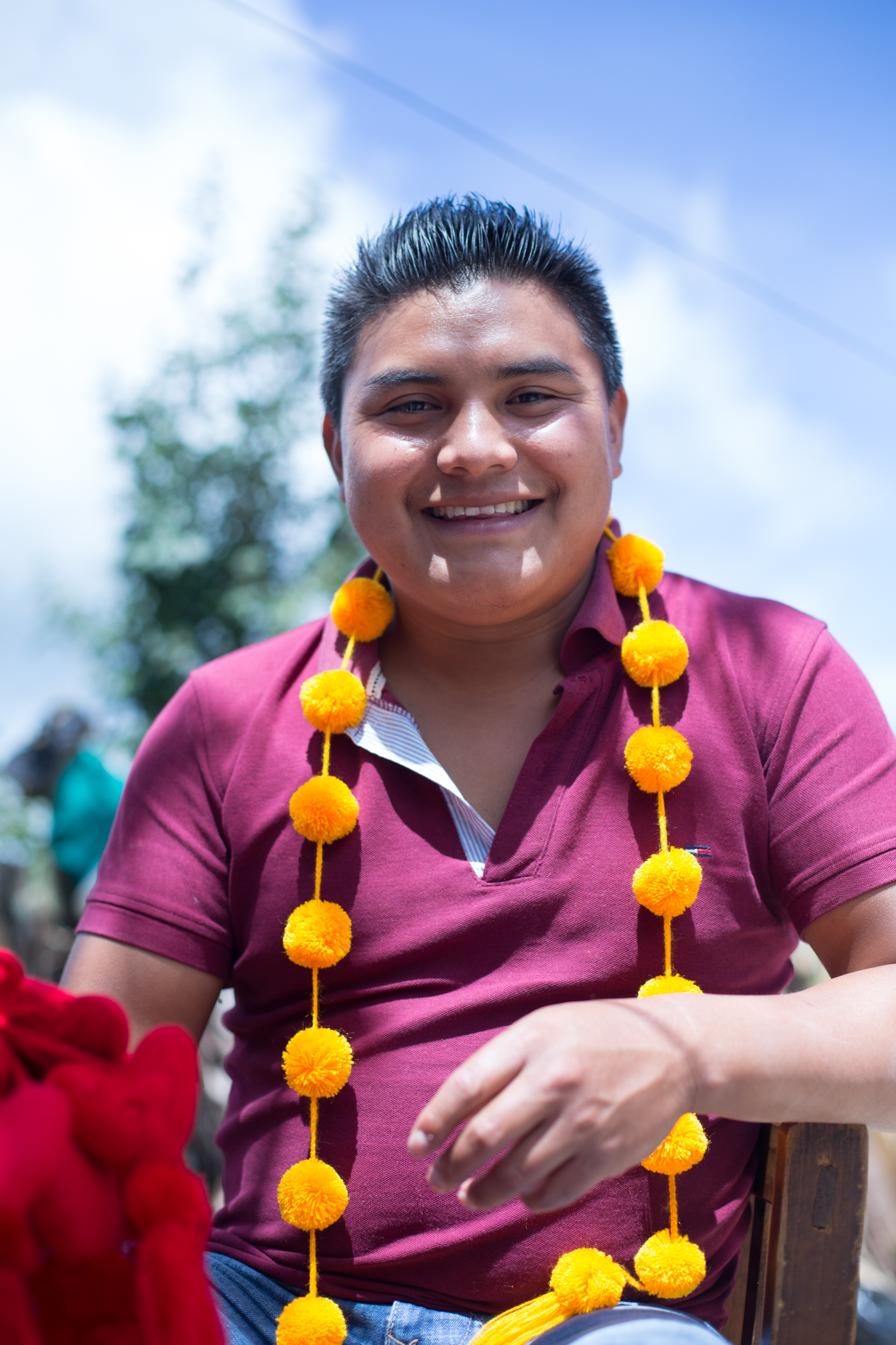 Our Pompom Man - Story documented by Triangleflash