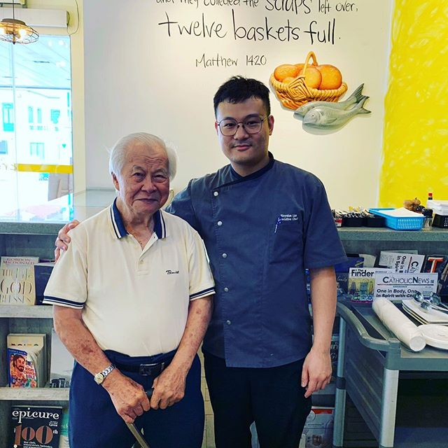 Concluding the day, we at #CrossingsCafe wishes Monsignor Francis Lau a Happy 58th #Sacerdotal Anniversary! He is our #loyal supporter and we want to #ThankYou for spending such a special day with us, for a #good #cause! #appreciation #gratitude #blessings #givingsg #cityofgood 🤗🤗