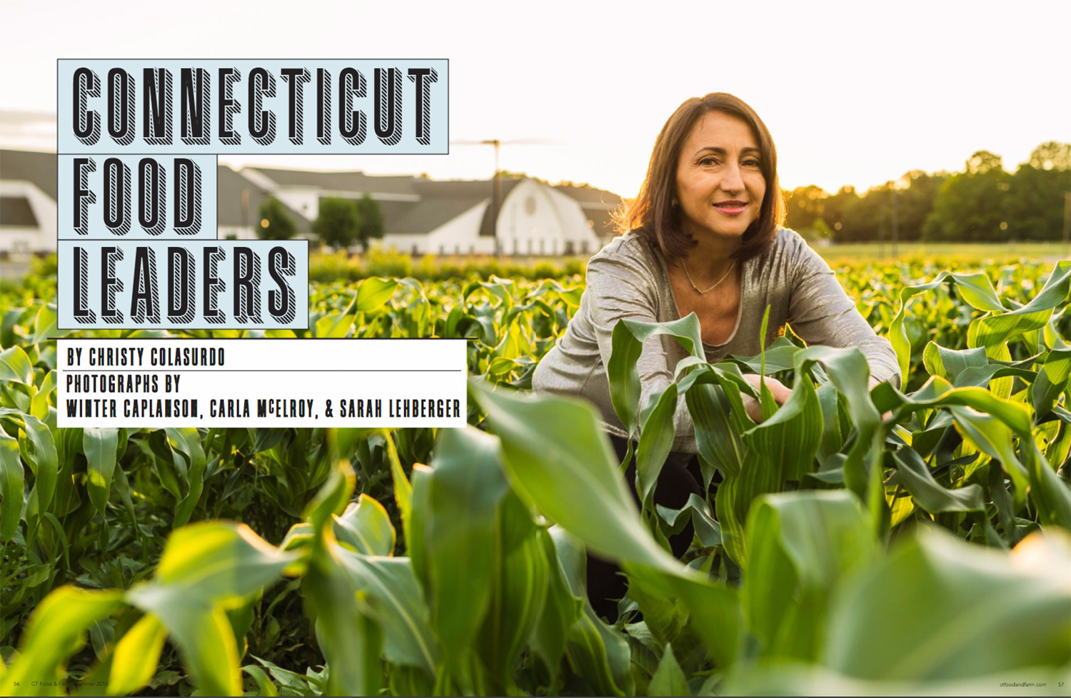 Connecticut Food and Farm Magazine Chef feature