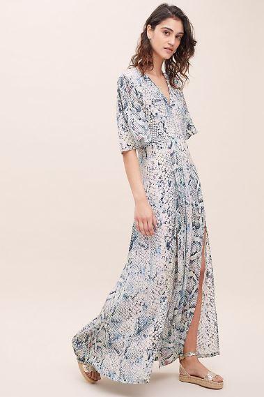 Dahliah Printed Silk Dress £294.00