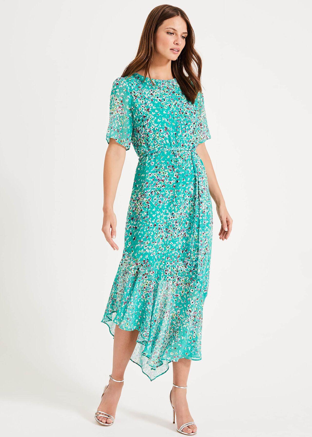 Klara Printed Dress £130