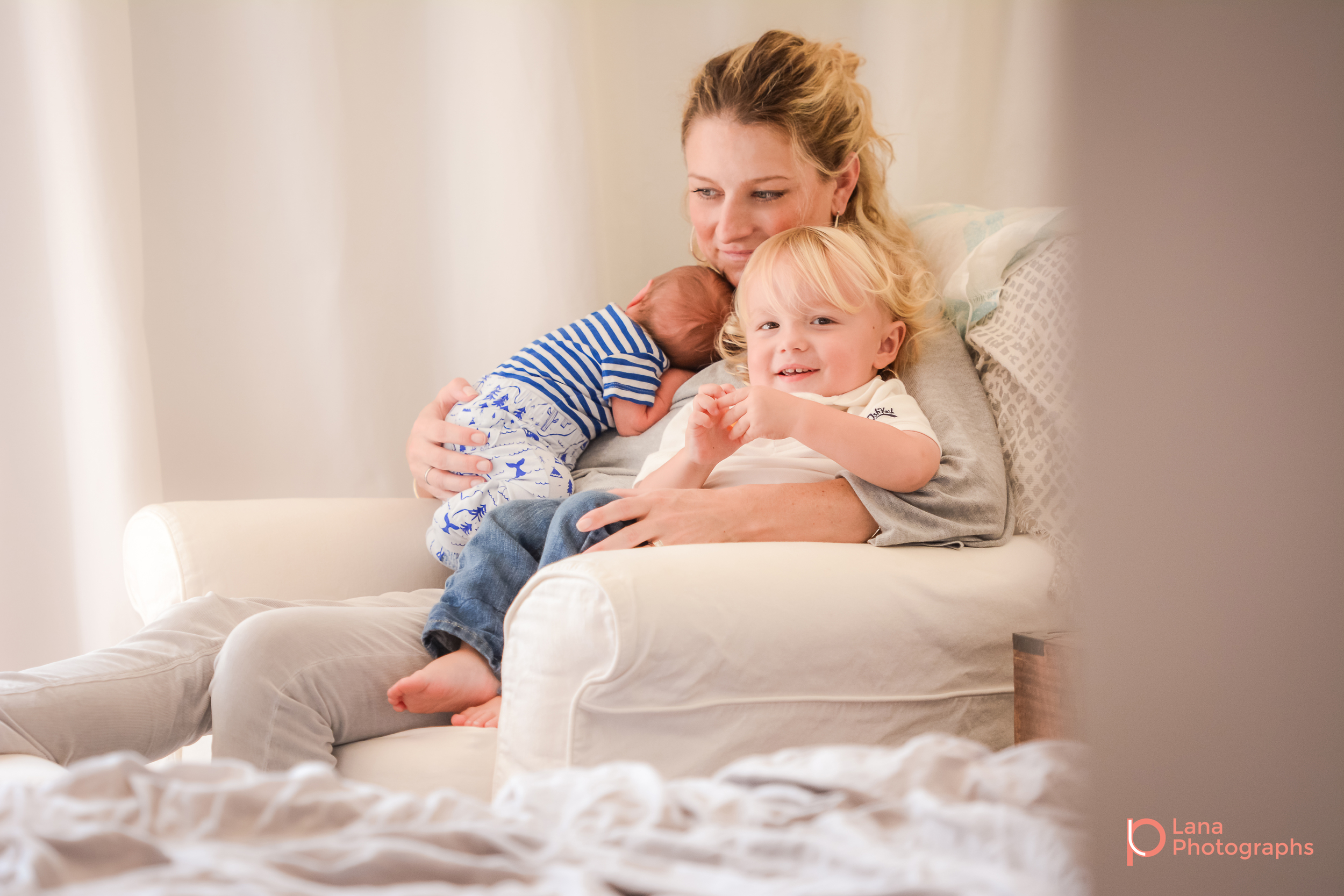In-Home Newborn Photography Session