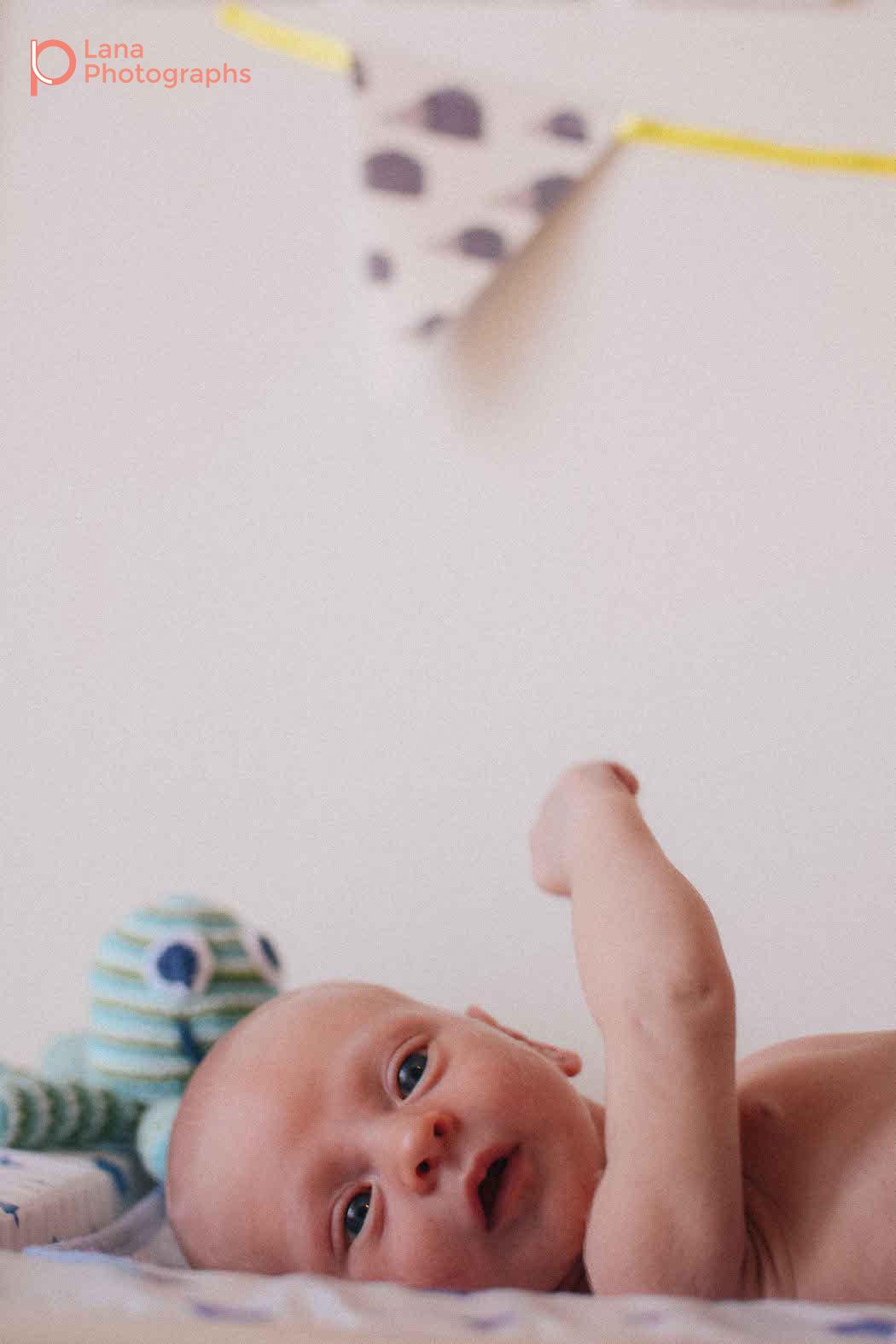 In-Home Newborn Photography Session in Dubai