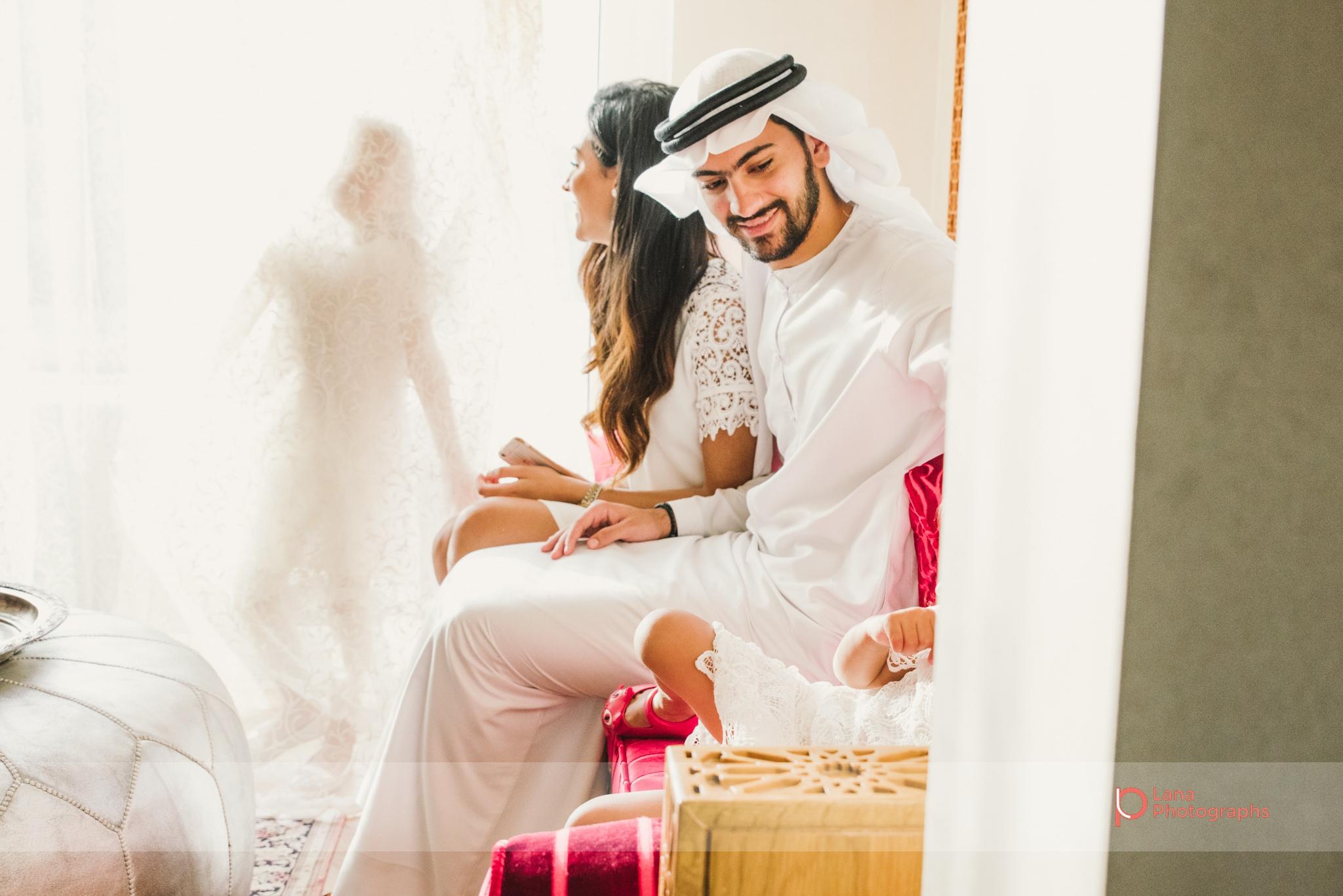 Lana Photographs Family Photographer Dubai Top Family Photographers silhouette of girl in the curtains