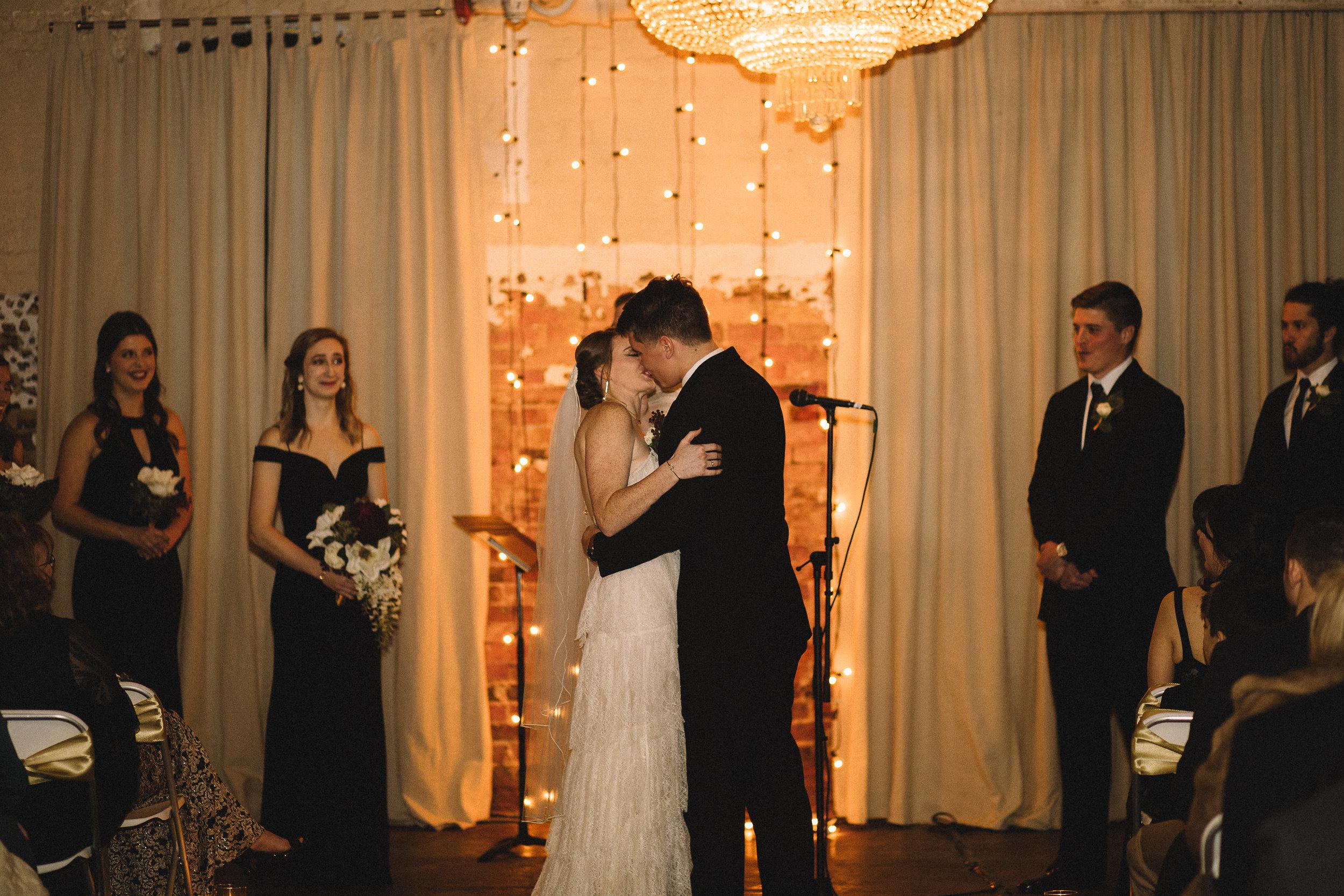 congrats to mr. & mrs. hatley!